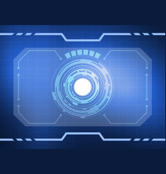 abstract virtual reality technology background vector image