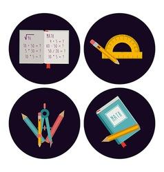 Back to school design vector