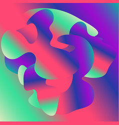 bright abstract gradient background vector image
