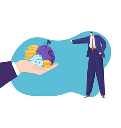 Concept struggle against corruption illegal vector