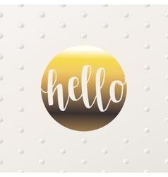 Creative card design vector image vector image