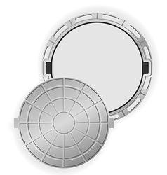 Manhole 02 vector