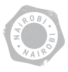 Nairobi stamp rubber grunge vector image
