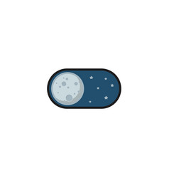 night mode application icon vector image