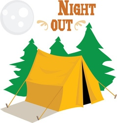 Night Out vector