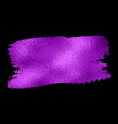 Purple texture paint stain vector