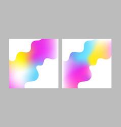 vibrant color vector image