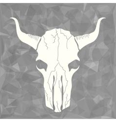 Skull Bull vector image vector image