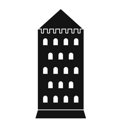 ancient building icon simple style vector image vector image