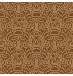 Brown seamless vector image