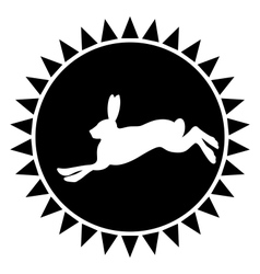 Hare vector image vector image