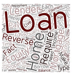 How a Reverse Mortgage Can Benefit Homeowners 62 vector image