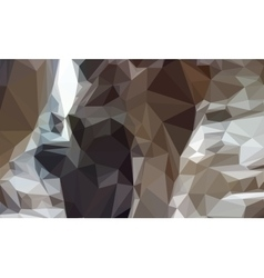 Abstract Geometrical Brown Background vector