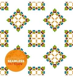 colorful seamless geometric pattern Modern vector image