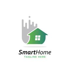 house logo vector image