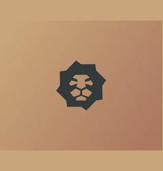 Lion creative logotype vector