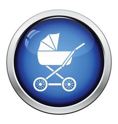 Pram icon vector image