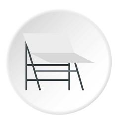 screen icon circle vector image