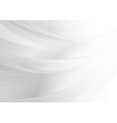 white grey minimal modern abstract waves vector image