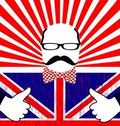 British day vector image