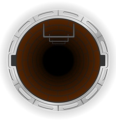 manhole 03 vector image vector image