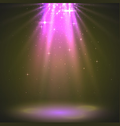 abstract magic light background pink holiday vector image