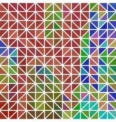 Abstract - geometric colored triangle grid vector