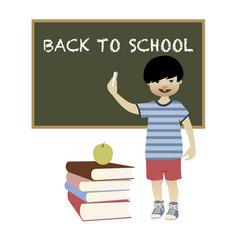 back to school-02 vector image