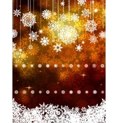 Gold shiny Christmas background EPS 8 vector