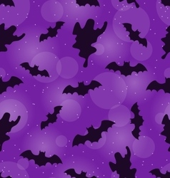 Halloween Seamless Pattern vector image
