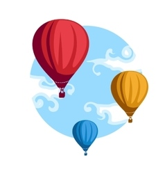Hot Air Baloons vector