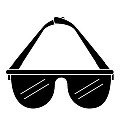 Reality virtual glasses icon vector
