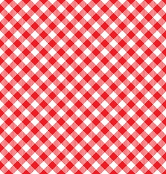 Red tablecloth diagonal background seamless vector