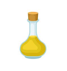 soya oil glass jug healthy vegetarian food vector image
