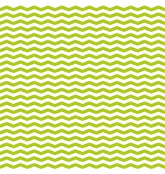 Tile spring pattern with white and green zig zag vector image vector image