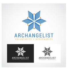 Archangel symbol vector