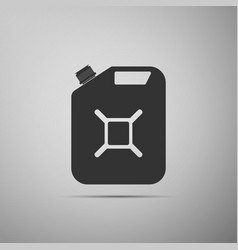 Canister for gasoline icon isolated diesel gas vector