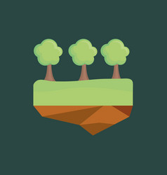 ecology design concept vector image