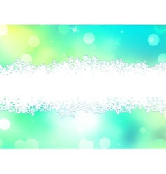 Green christmas background with copy space EPS 10 vector