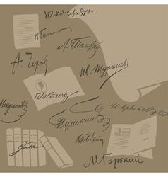 Literature vector image
