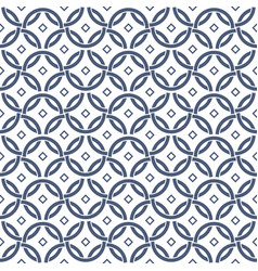 mesh circle linear seamless pattern for textiles vector image