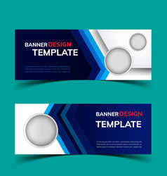 multipurpose layout banner design3 vector image