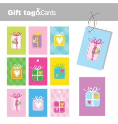 New year tags vector image