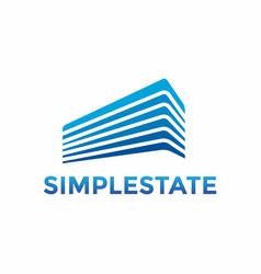 Simple construction logo design template vector