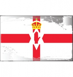 ulster banner vector image