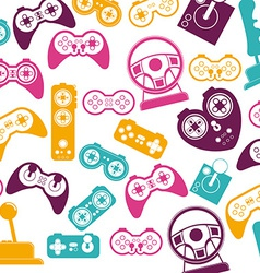Video games design vector
