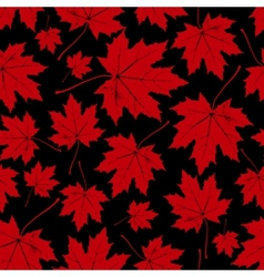 Vintage floral autumn fall seamless pattern vector