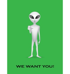 We want you vector image