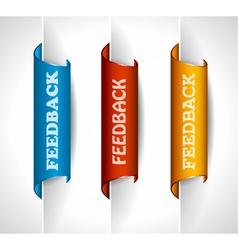 Feedback Tags vector image