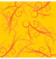 yellow square background vector image vector image